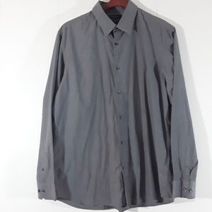 Banana Replic slim fit grey dress shirt 17-17.5 XL